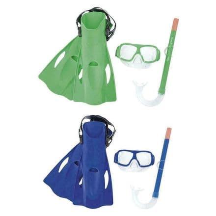 Hydro Freestyle Snorkel Set - Diving, Swimming, Snorkelling Assorted